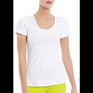 Lolë women's Carts Top white  T - Shirt